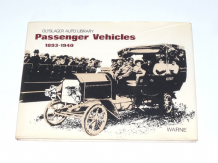 Passenger Vehicles 1893 - 1940 (Olyslager 1973)